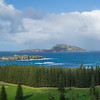 View from Norfolk Island to Phillip Island