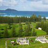 View over Kingston, Norfolk Island