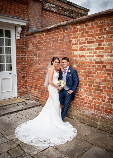 bride-groom-casual-pose-wall