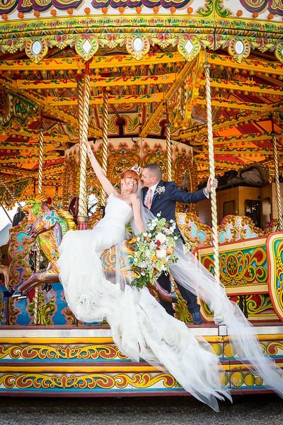 bride-groom-carousel-fairground-southend-barns-funfair