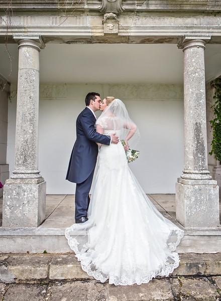bride-groom-highfield-park-kissing-wedding