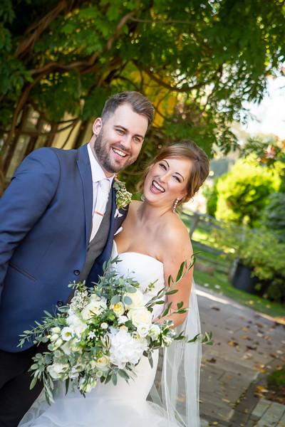 bride-groom-relaxed-informal-laughing-rivervale-barn