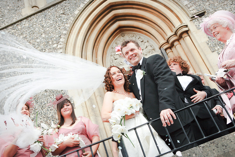 The Wedding of Clare Baker & Richard Bowman on 14th July 2007