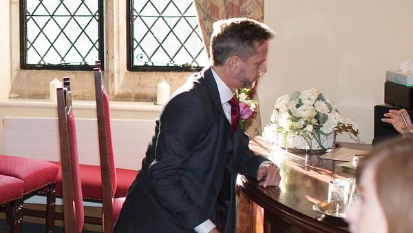 MR AND MRS SIMONS 5 January 2018 at Archbishop Palace, Maidstone