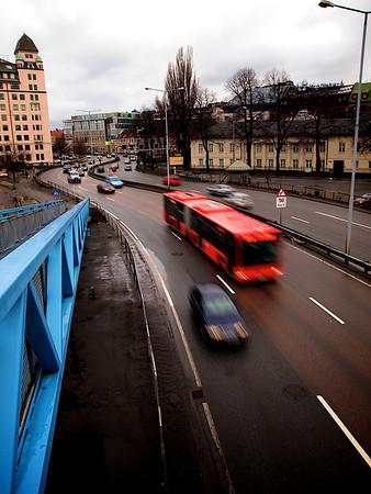 Light Traffic 3, Havneringen, Oslo. ********** Påsketrafikk 3, Havneringen, Oslo. (Foto: Geir)