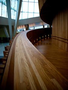 Wooden details. Oslo Opera House. Oslo. ********** Tredetaljer. Operahuset i Oslo. (Foto: Geir)