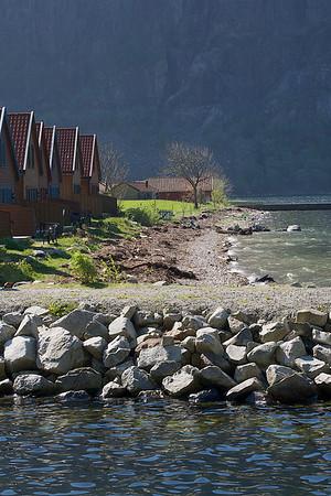 Strandsonen. Foto: Geir