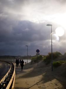 Trail along the beach at Solastrand (Foto: Geir)