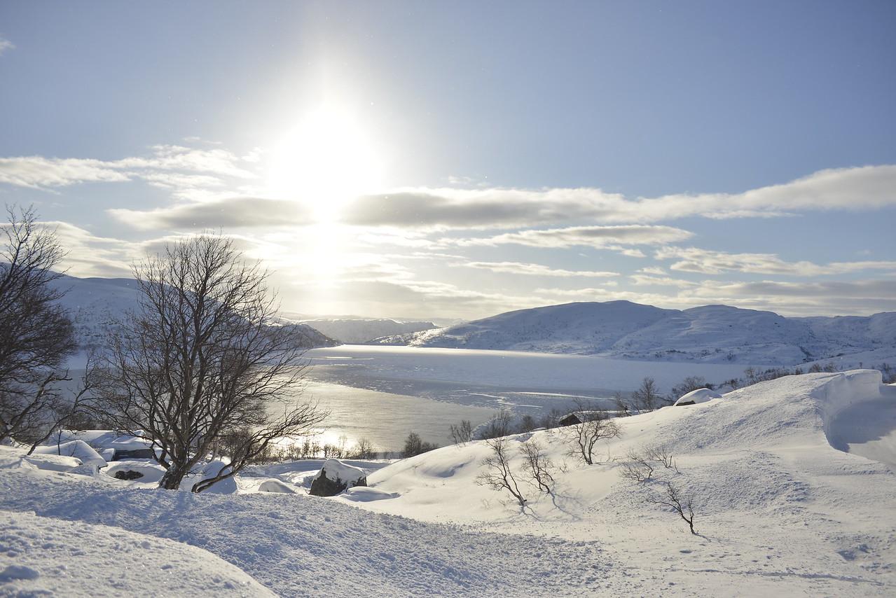 Gravatnet nær Tjørhom, Rogaland