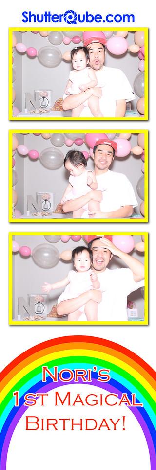 Nori's 1st Birthday
