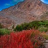 High Sierra Red Rock Mountain