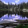 Still lake in the High Sierra