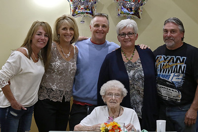 Norma Schofield turns 106 years old, September 12, 2018