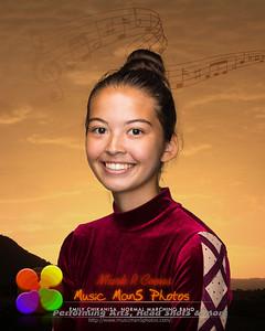 Emily Chikahisa 12 16x20 Band Silhouette