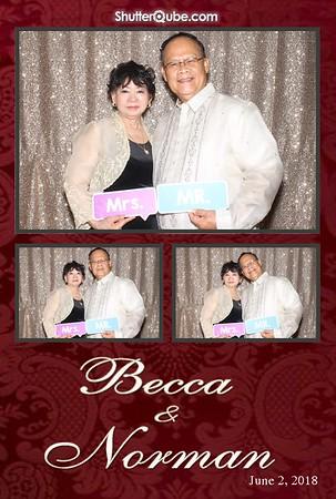 Normand & Becca 06/02/18 Crowne Plaza Houston