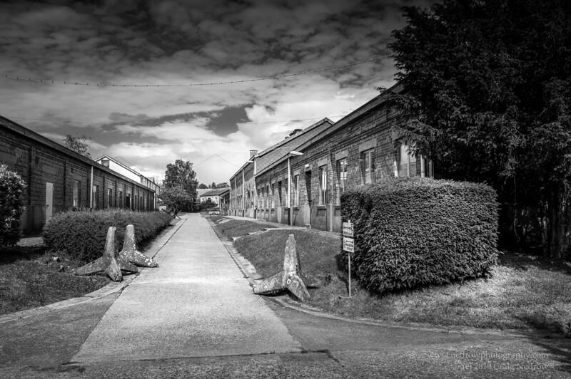 Bastogne Barracks. former 101st Airborne HQ during Battle of the Bulge