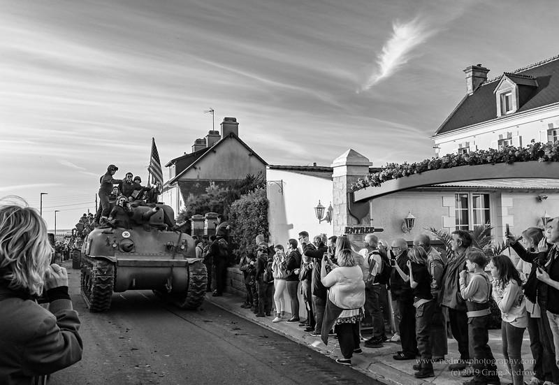 75th Anniversary of D-Day  - Parade at Grandcamp - Maisy