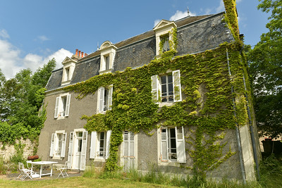 House where we stayed near La Cambe France