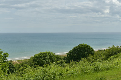 Omaha Beach near the American Cemetery at Colleville Sur Mur