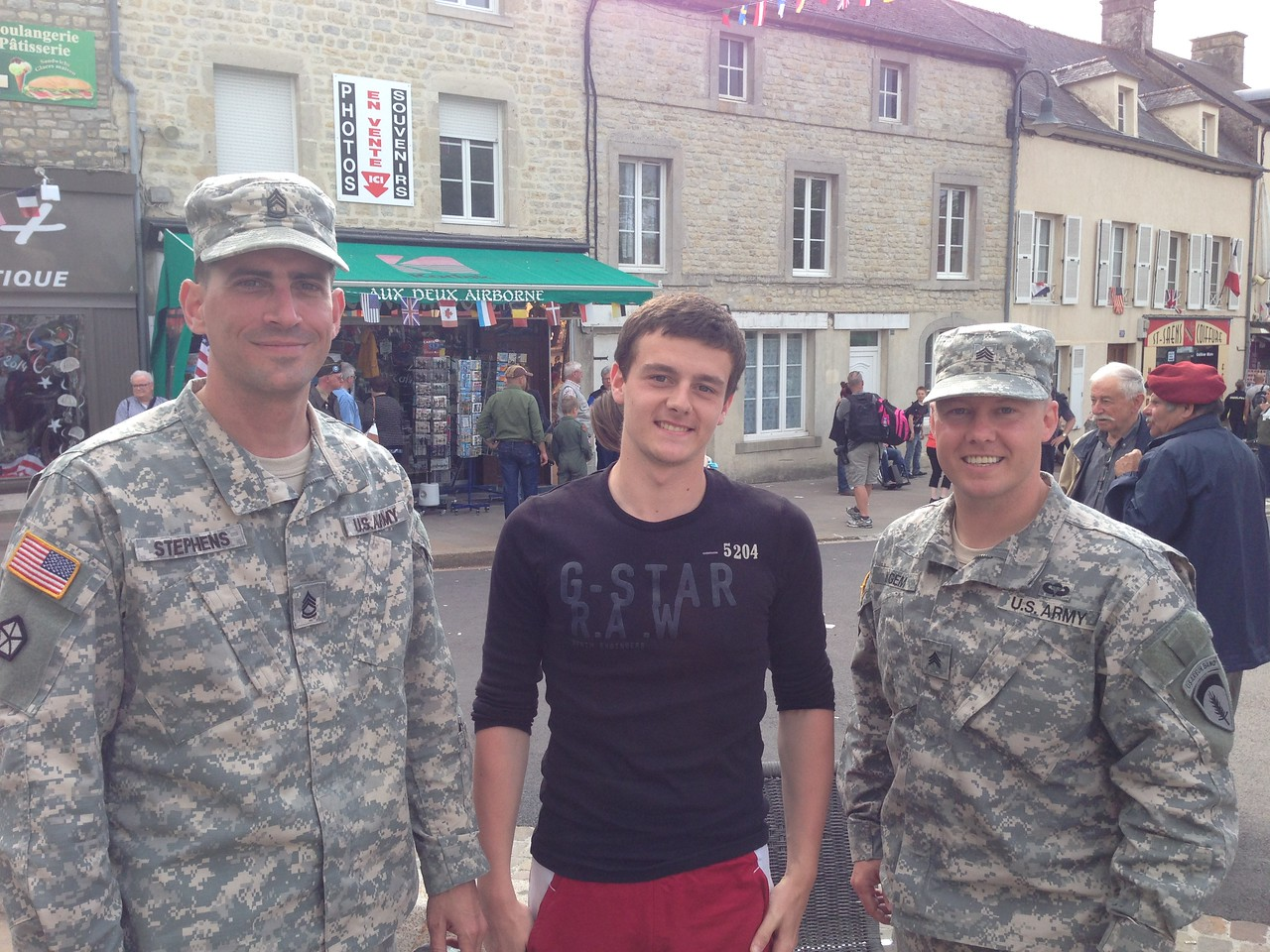 If you walk through the town in uniform you will be asked by random delighted citizens to have their pictures taken with you. I've been to a lot of places, and I've seen a lot of things. I don't know of any other place in the world where American soldiers are held in such high regard.