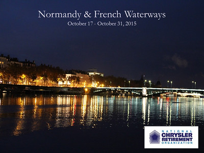 Normandy & French Waterways 2015
