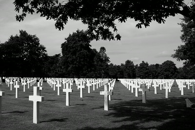 Normandy , American cemetery, D Day