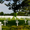American cemetery, Normandy, pano
