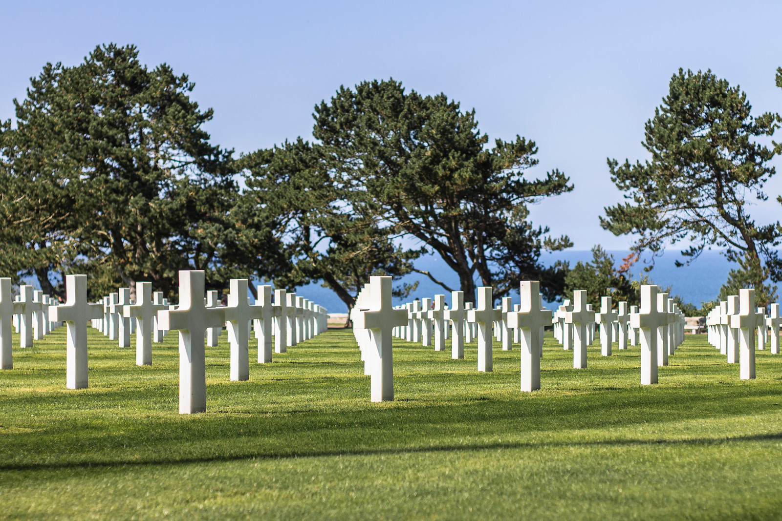 The Normandy American Cemetery and Memorial, France