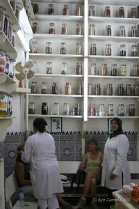 Within the Medina of Marrakesh, the Pharmacy