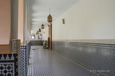 Inner corridor of a mosque