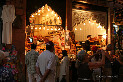 Lots of nummy pastries at the medina