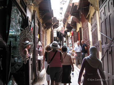 Alley in the Medina of Fez