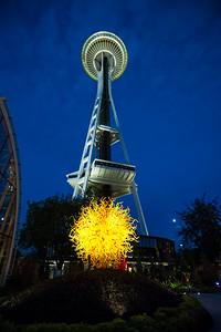 Space Needle Seattle Photo