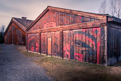 'Ksan Historical Village and Museum in Hazelton.photo