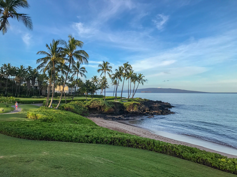 Taking a stroll on Maui's Wailea Coastal Walk