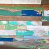 Rustic boards along the famed Maui boardwalk.