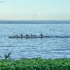 Boaters along Maui