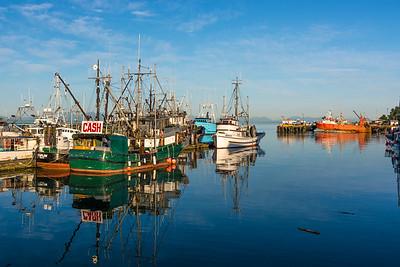 Fish boat at the dock