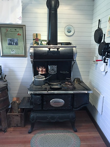 Wood stove photo