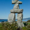 The English Bay Inukshuk