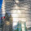 Reflection of Marina Building