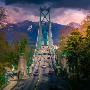 Granville Bridge Vancouver Photo