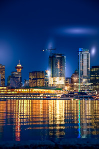 Night Lights of Vancouver