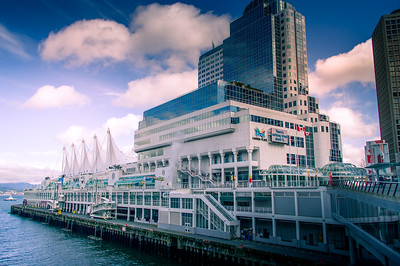 Cruise ship pier at Vancouvet Convention Centre