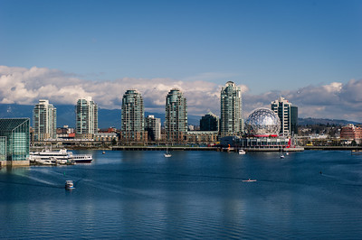 Telus world of science at the end of false creek.Vancouver,British Columbia #nikon_dslr_users @nature.geography