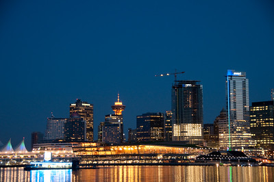 Night Lights of Vancouver ( Landscape)