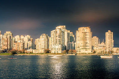 View of Downtown Condos from False Creek