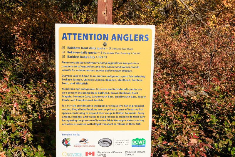 Freshwater fishing regulations