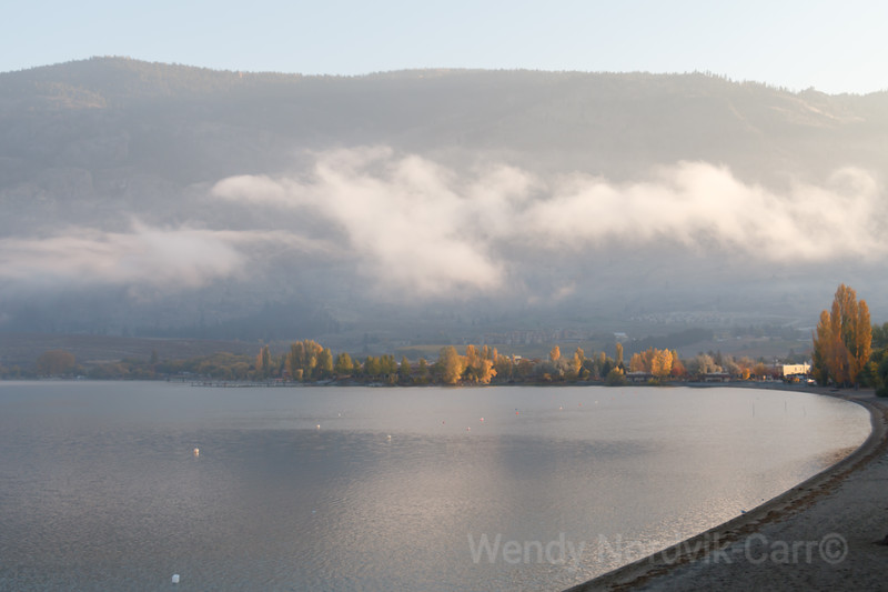 Sunrise on Osoyoos Lake