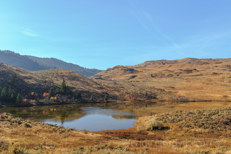 Spotted Lake between Osoyoos and Oliver